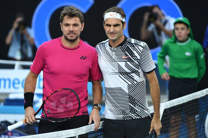 Rogeris Federeris prieš Staną Wawrinką