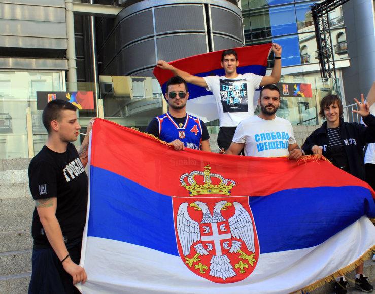 Serbų sirgaliai