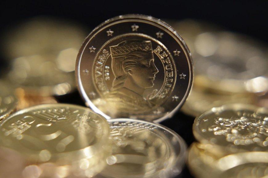 Latviškos eurų monetos