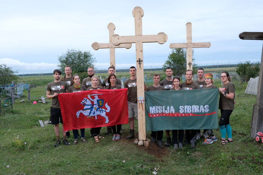 """Praėjus pusei """"Misija Sibiras'17"""" ekspedicijos, komanda pradeda darbus Algatujuje"""