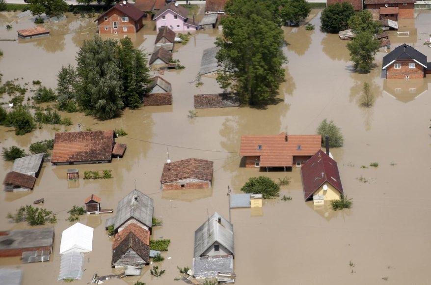 Potvynis Bosnijoje