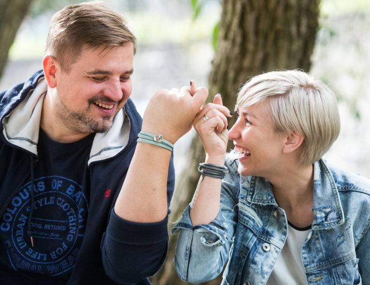 Kristina Lisauskė ir Edvinas Busarovas