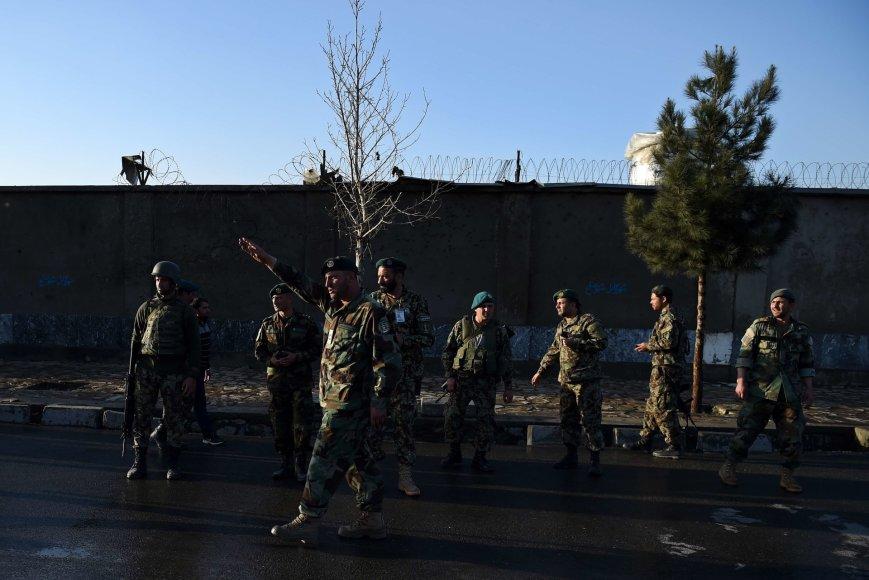 Afganistano kariai įvykio vietoje