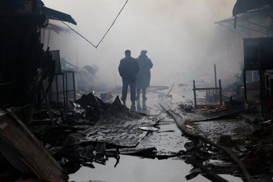 Groznas po susirėmimo su islamistų kovotojais