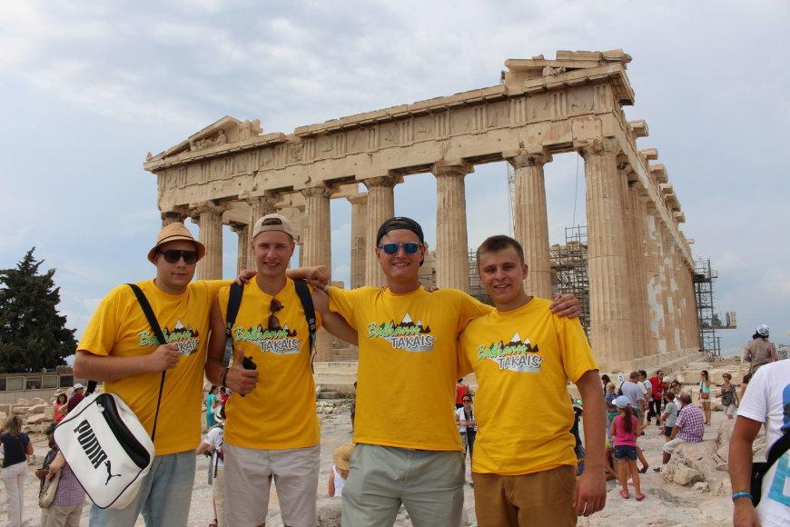 """Kelionė """"Balkanų takais"""" Graikijoje"""