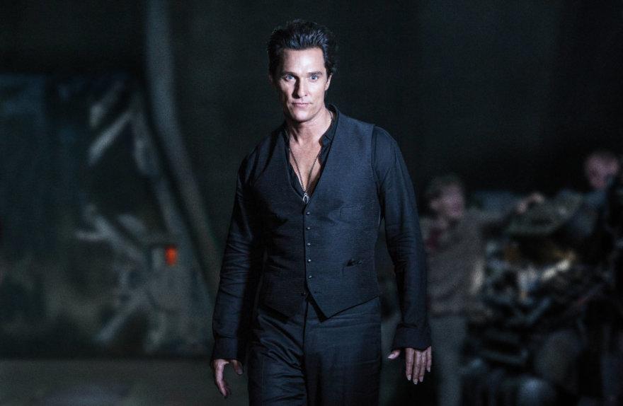"""Matthew McConaughey filme """"Tamsusis bokštas"""""""