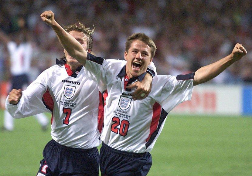 Davidas Beckhamas ir Michaelas Owenas