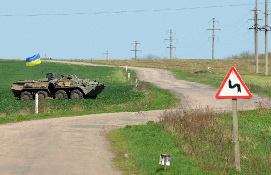 Ukrainos kariai užsiėmę pozicijas netoli Slovjansko