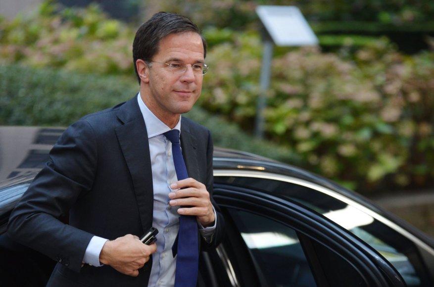 """Scanpix"" nuotr./Nyderlandų premjeras Markas Rutte"