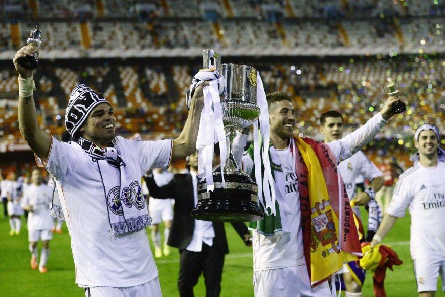 Pepe ir Sergio Ramosas