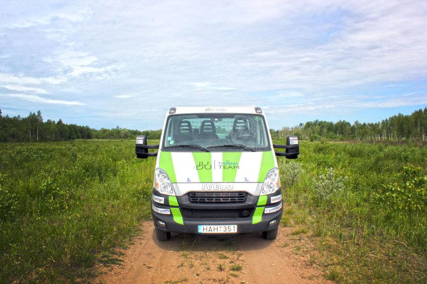 """""""Judu Vytautas Team"""" komandos hibridinis """"Iveco Daily"""""""