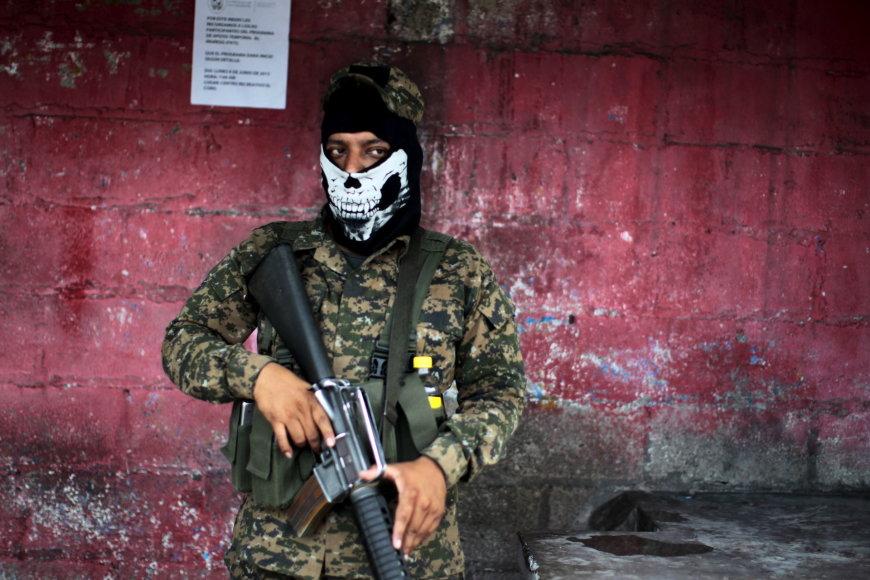 Salvadoro saugumo pajėgos