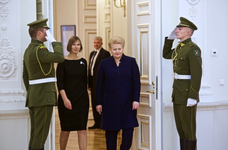 Kersti Kaljulaid ir Dalia Grybauskaitė