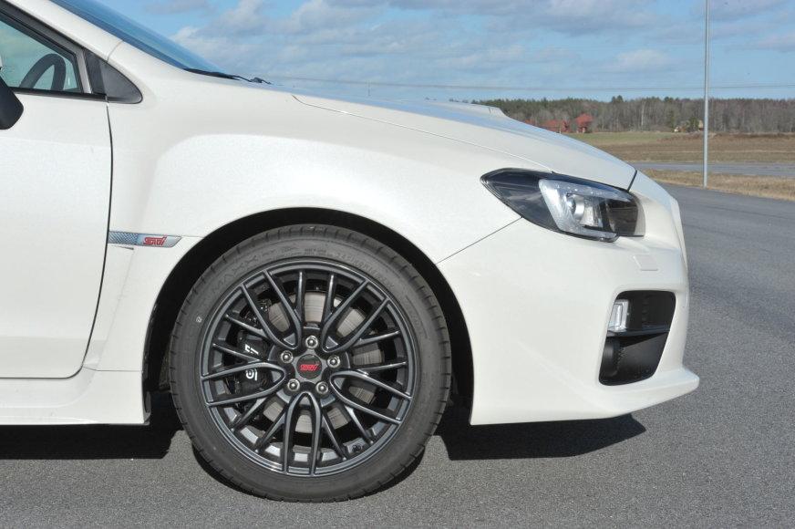 """Naujausias """"Subaru WRX STI"""""""