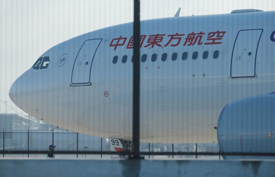 Sidnėjuje saugiai nutūpė Kinijos lėktuvas su skyle variklio gaubte