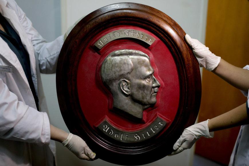 Argentinoje rasta didelė nacių daiktų kolekcija