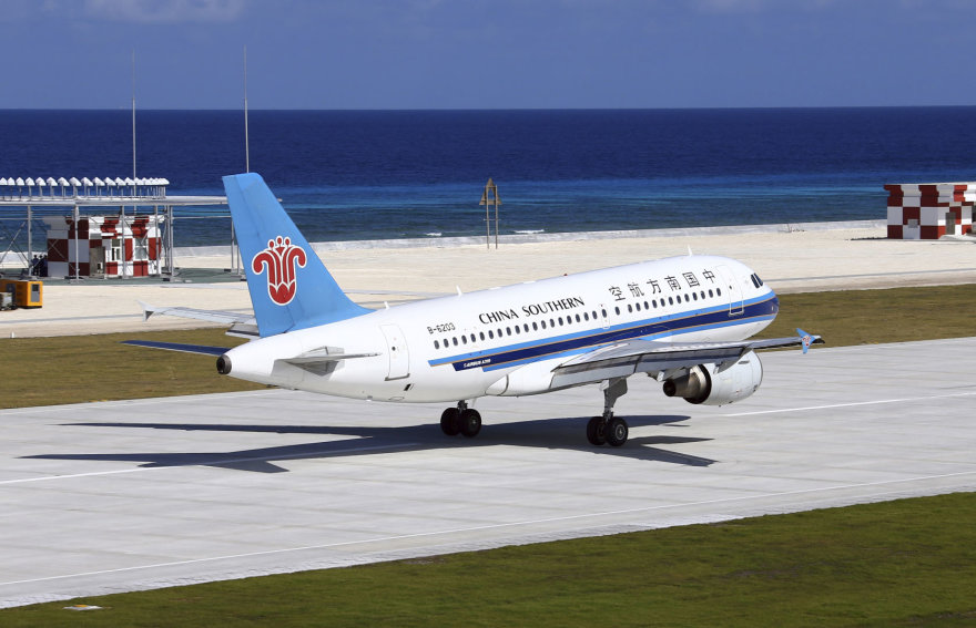 """""""China Southern Airlines"""" lėktuvas"""