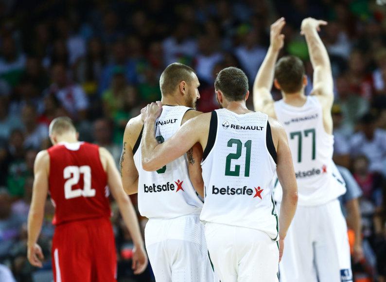 Pirmosios rinktinės rungtynės: Lietuva – Lenkija