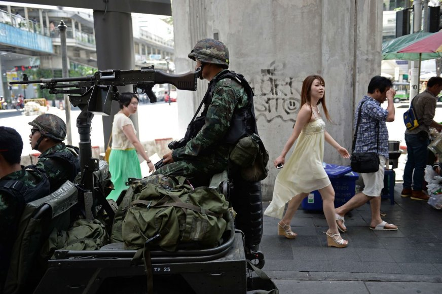 Tailando kariai Bankoke