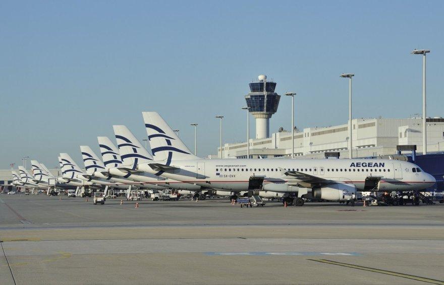 """Tiesioginius skrydžius tarp Vilniaus ir Atėnų vykdys Graikijos oro bendrovė """"Aegean Airlines"""""""