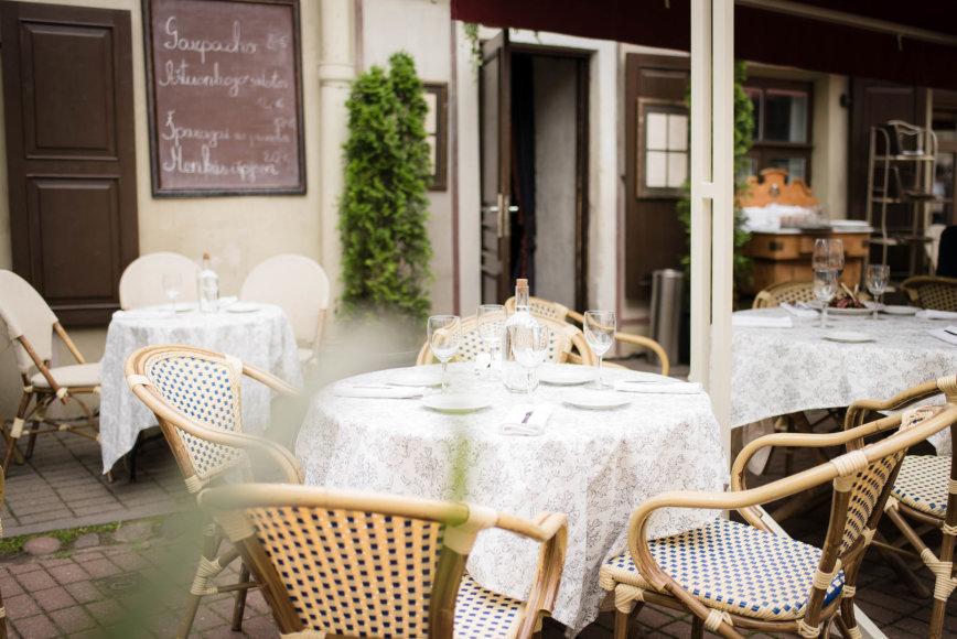 """""""Gediminas Gražys Photography"""" nuotr. /Restorano """"Saint Germain"""" lauko terasa"""