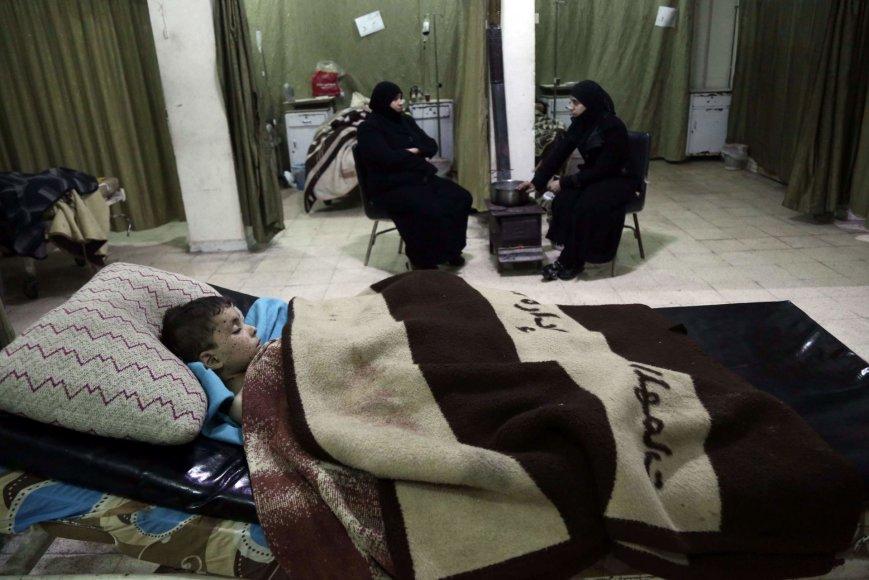 Ligoninė Sirijoje