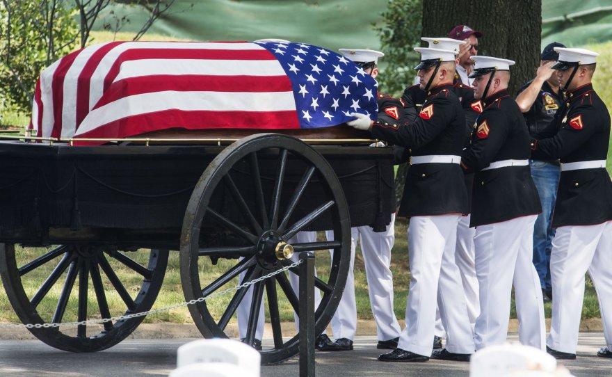 JAV karių laidotuvės