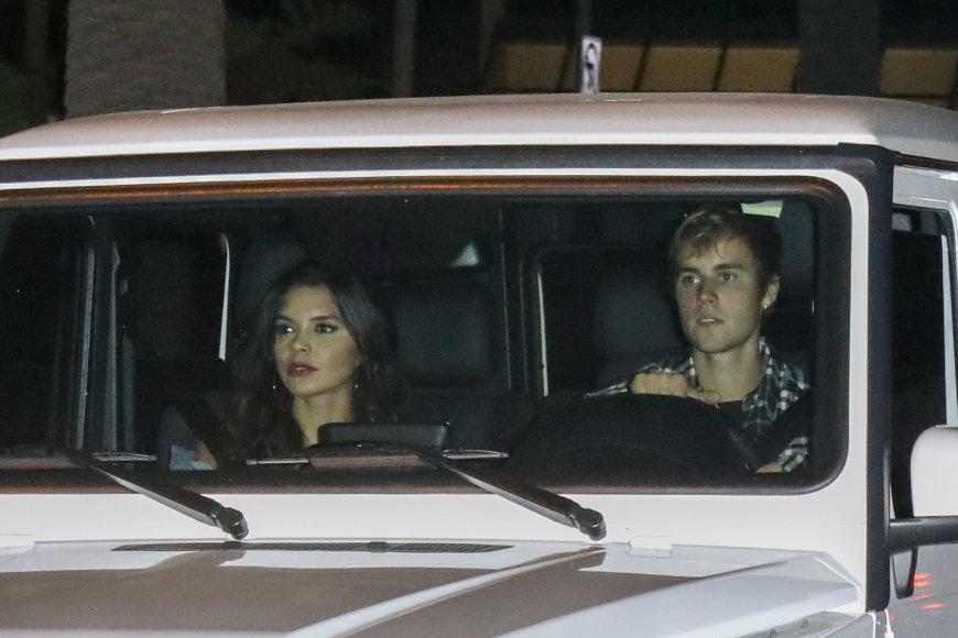 Justinas Bieberis ir Paola Paulin