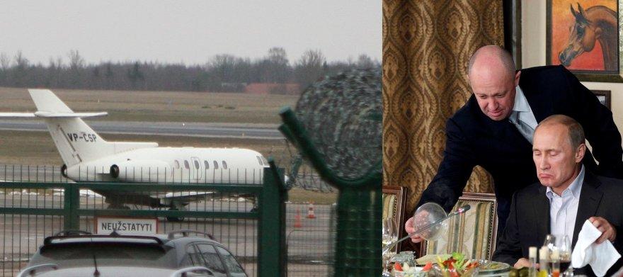 """""""Scanpix"""" nuotr./Jevgenijus Prigožinas yra Vladimiro Putino bendražygis"""