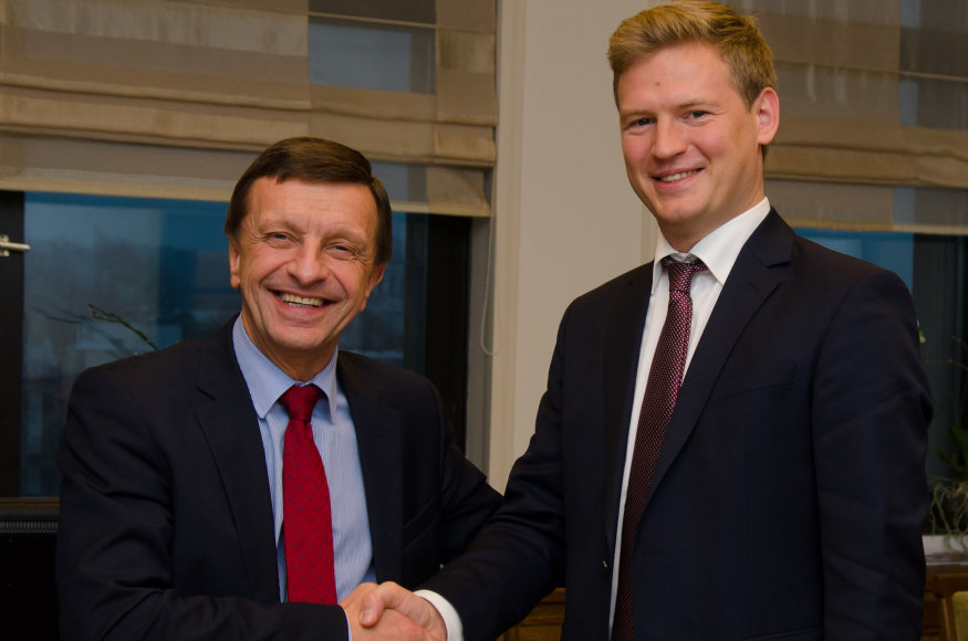 Petras Barsauskas ir Lukas Jankauskas