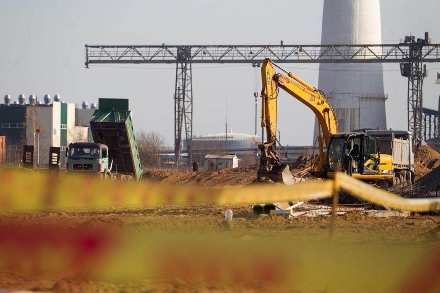 Atliekų rūšiavimo gamykla stovės Jočionių gatvėje Vilniuje