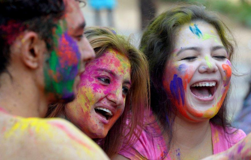 Holi festivalis Indijoje