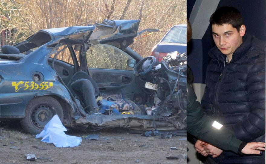 Mantas Šironas sukėlė avariją, per kurią žuvo trys žmonės. Vairuotojas pripažintas žudiku ir nuteistas kalėti 14 metų.