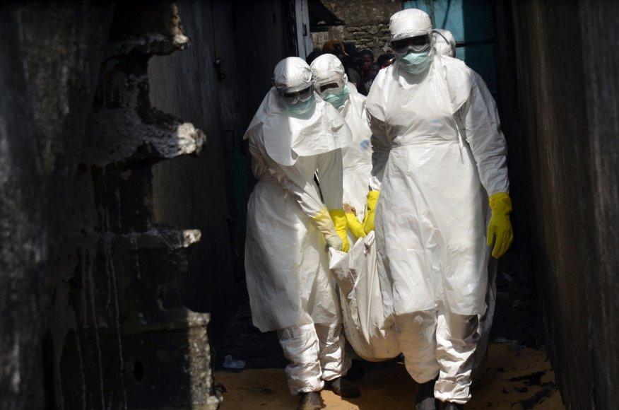 Ebolos virusas Afrikoje