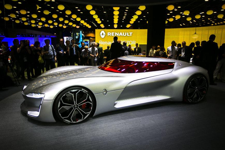 """Įspūdingas """"Renault Trezor"""" konceptas Paryžiaus automobilių parodoje"""