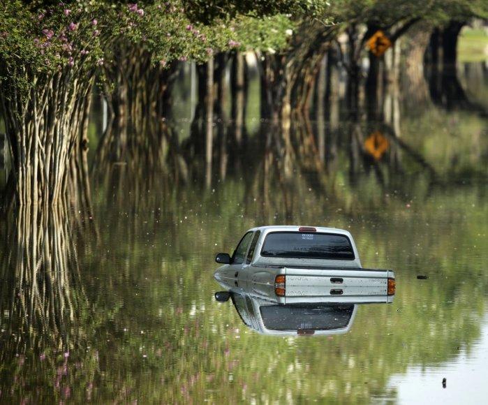 Potvynis Teksase