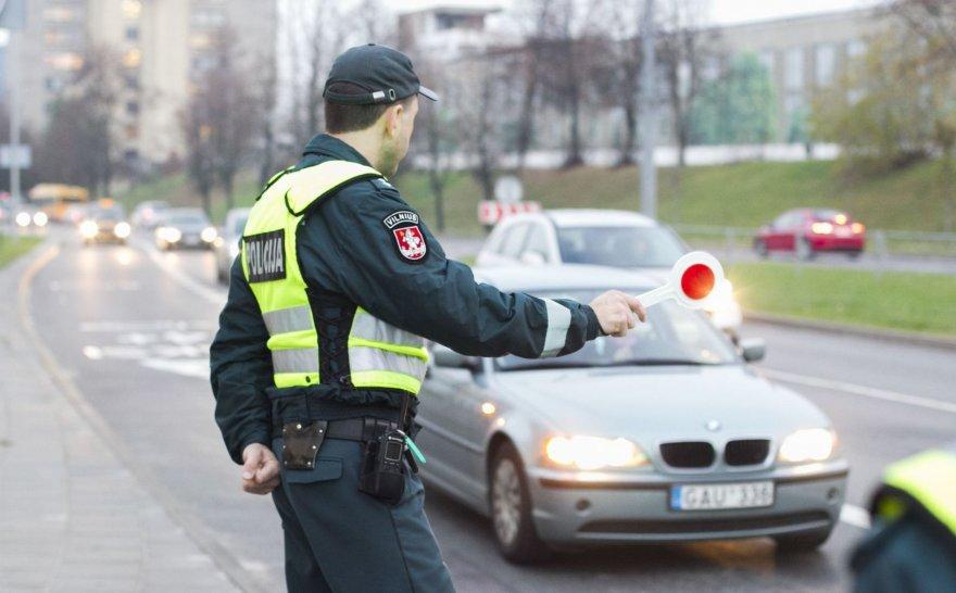 Policijos akcija Vilniuje