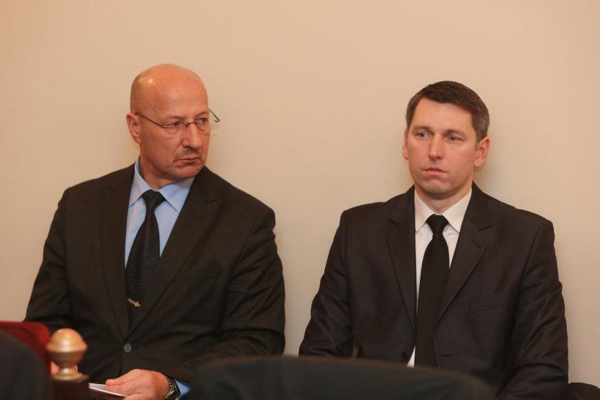 Visvaldas Račkauskas ir Darjušas Sinkevičius