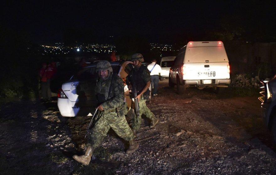 Policija saugo masinės kapavietės Meksikoje vietą