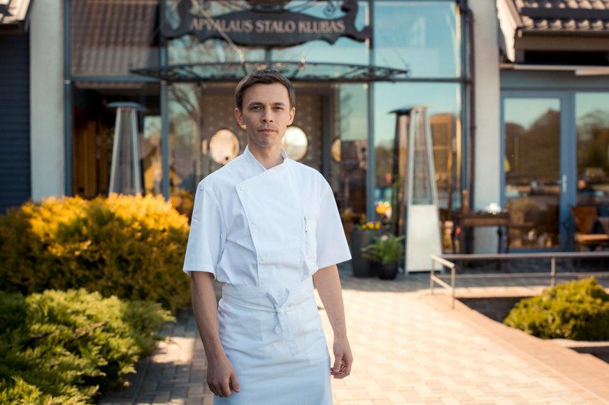 Restorano archyvo nuotr./Šefas Jevegnijus Volkovas