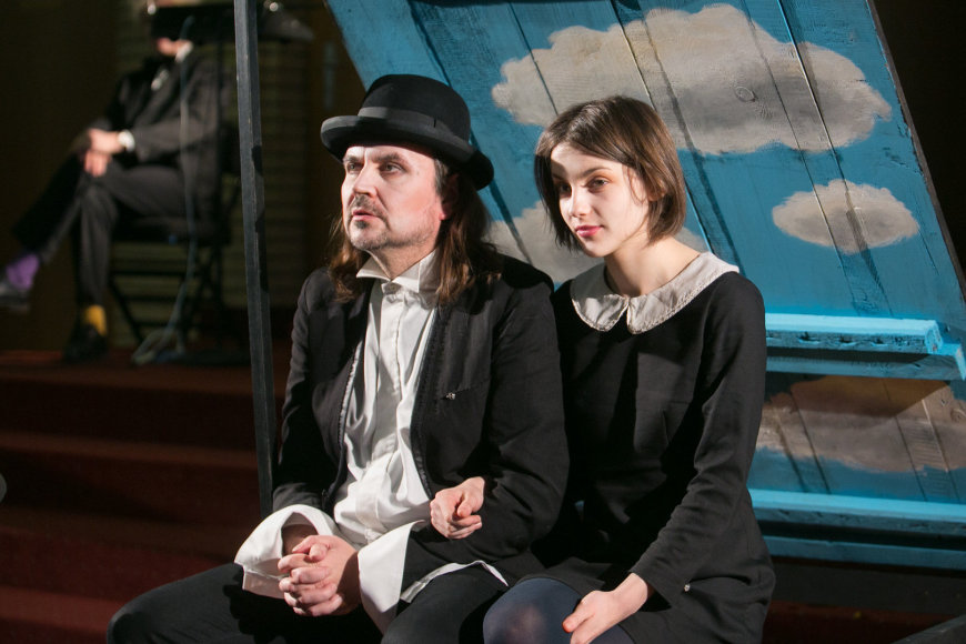 Oskaras Koršunovas ir Greta Petrovskytė