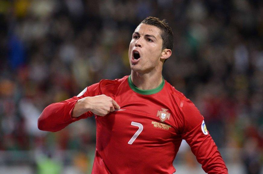Cristiano Ronaldo - Portugalijos futbolo rinktinės lyderis