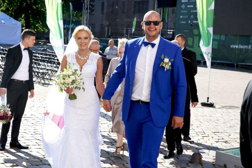 Enriko Daktaro ir Kamilės Doveikaitės vestuvės