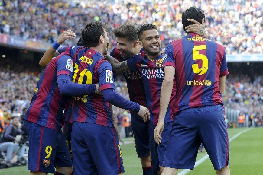 """Barcelona"" futbolininkai"