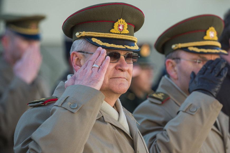 Generolo Jono Žemaičio Lietuvos karo akademijoje įvyko akademijos viršininko pasikeitimo ceremonija