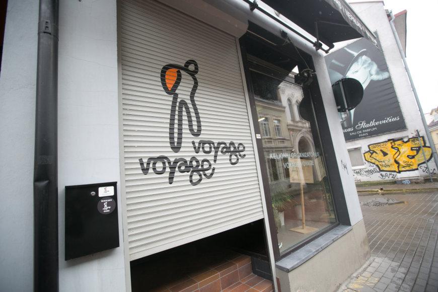 """Kelionių organizatoriaus """"Voyage-Voyage"""" biuras"""