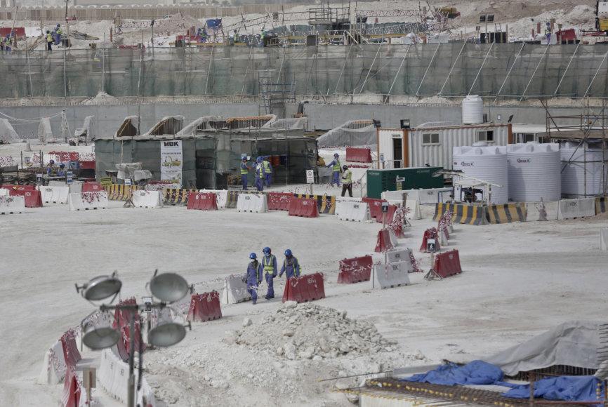Darbininkai Katare
