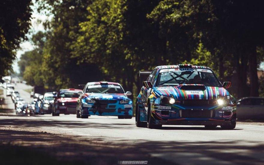 """""""Saburov Racing Team"""" sugrįžta į Palangą, atsiveždama savo išskirtinį, žiedinėms lenktynėms parengtą """"Subaru Impreza WRX STI"""" automobilį."""