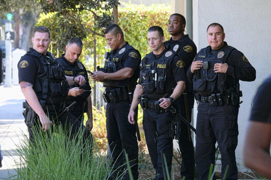 Los Andželo policininkai