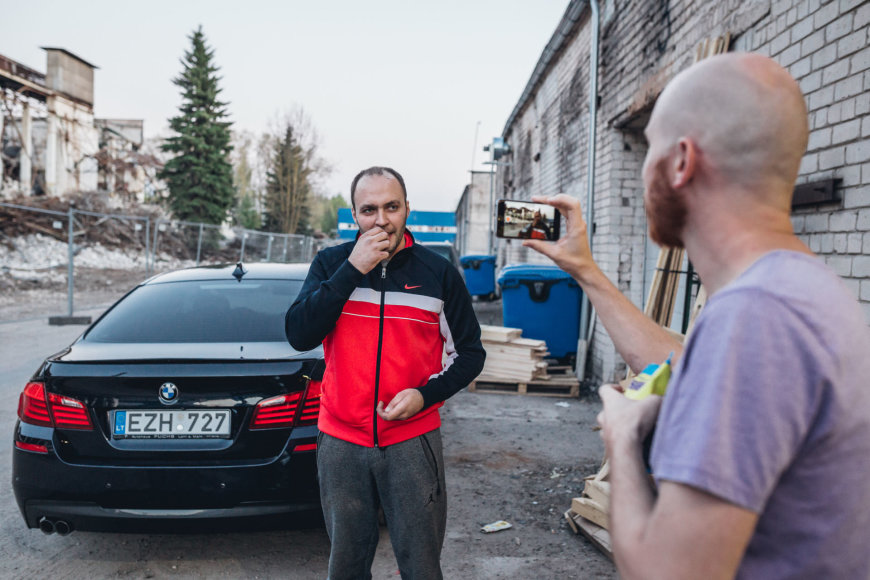 """Autoplius.lt Fast Lap"" Edvino Einikio garaže"